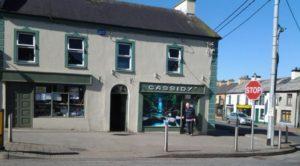 Cassidys Corner Shop Lord Edward Street Ballymote