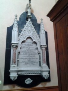Monument Archdeacon Terence O Rorke Church of The Assumption Collooney